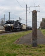 Brand New SD70ACe trails on FC-81