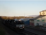 NS 1043 Leads Westbould Coal Empties