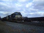 NS 9391 leads a Westbound Autorack
