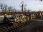 NS 2615 Leads Eastbound Intermodal