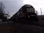 NS 6337 Leads Eastbound Ballast Loads