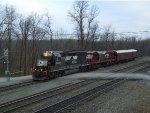 NS 5609 Leads Track Geometry Train