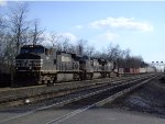 NS 9671 Leads Eastbound Intermodal
