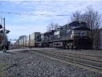 NS 9428 Leads an Eastbound Intermodal