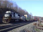 NS 2580 Leads a Westbound Intermodal