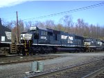 NS SD70 2536 Fresh Paint