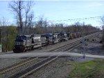 NS 6740 Leads an Eastbound PPLX Coal Train