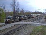 NS 9920 Leads a Eastbound Intermodal
