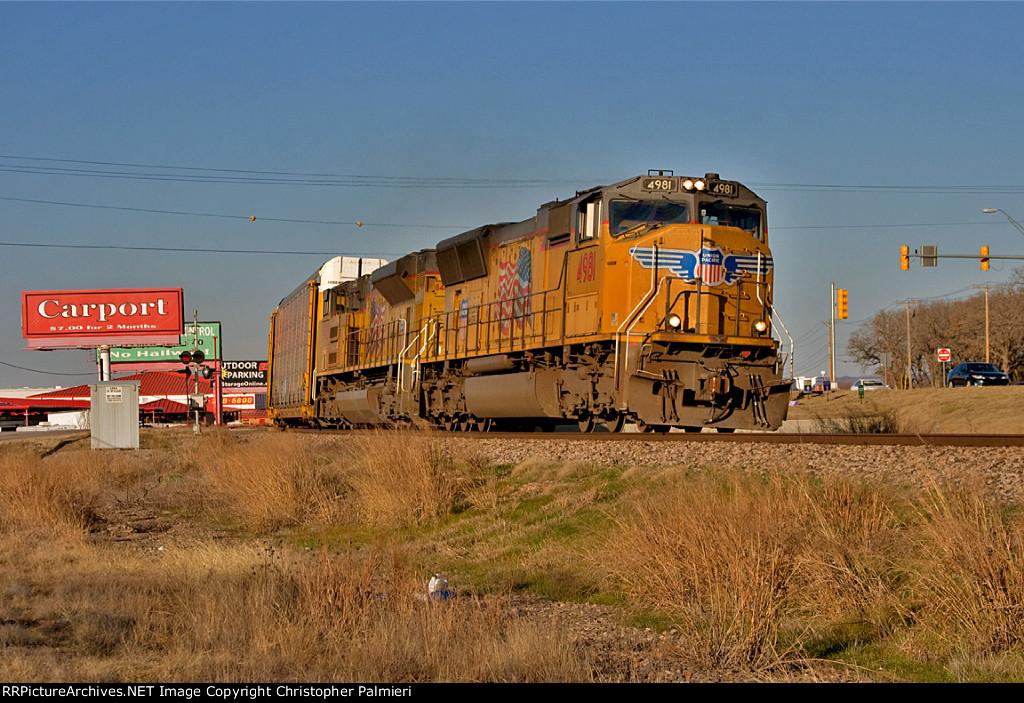 UP 4981 Leads AAMSA-28