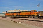BNSF 5722 and BNSF 6297 - Rear DPU's on E-THHNAM0-73