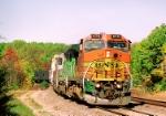 BNSF 570 BW40-8