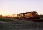 BNSF 7141 SD-40-2