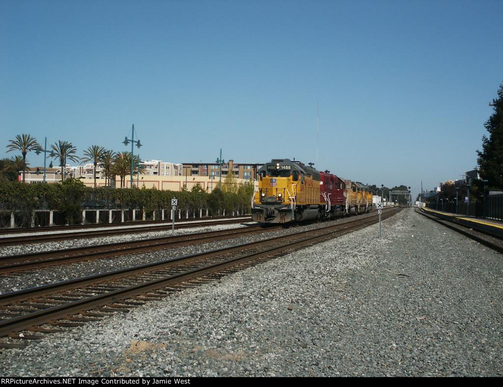 Union Pacific EOZOZ in Emeryville