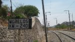 Morelos track sign at Hercules