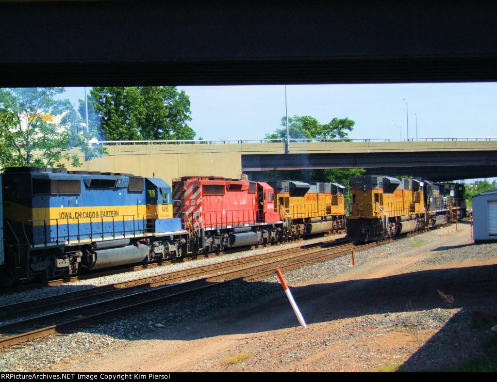 Ethanol Train Power - CSX & NS