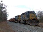CSX 8446 W070 Ballast Loads