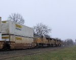 UP 4342 NS Train 212