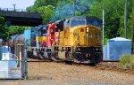 UP 8128 CP 6049 ICE 6416 PR-19 CSX Ethanol Loads