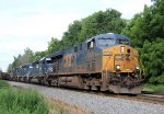 "CSX 5500 ""Spirit of Cincinnati"" + 4 EMDs on Q410"
