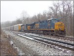 CSX 5455 and 4038