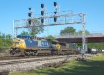 CSX 7704 and 5441