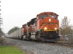BNSF 9254 & 5639 make good speed as they head east with N956-01