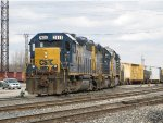 CSX 2635 leads Y291 out of 10 Track