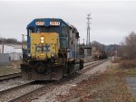 D708 heads away on Track 2 as RG314 waits