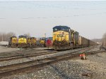 Y291 shifts power around on the lead as N901 waits