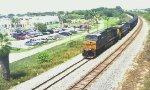 CSX V147 Coal Train