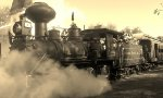Orange Blossom Express in Sepia Tone