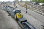 CSX GP15s Switch the yard