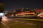 KCSM SD22ECO locos leading Christmas train