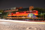 KCSM SD22ECO leading Christmas train