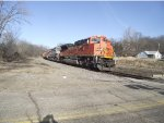 BNSF 9133 and 9557