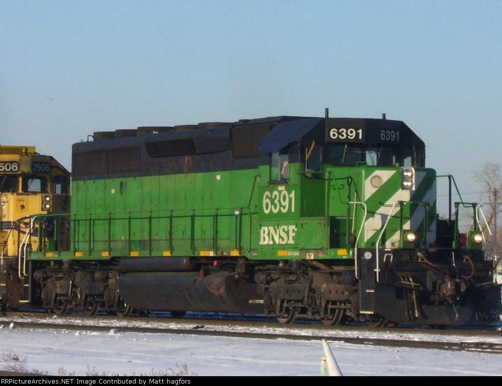 BNSF 6391