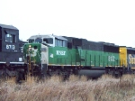 BNSF 8122