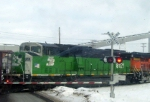 BNSF 8121