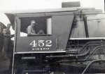 "Lloyd Kinney On Board ""Big A"" #452 1943"