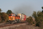 BNSF 5460 with westbound stacks