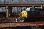 CSX 7362 leads Q275 south by milpost 119