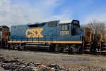 CSX Road Slug 2230 (Ex-Chesapeake & Ohio GP35 3539)