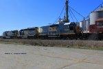 Q275 works at Memphis Jct Yard