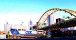 CSX-15 rolls through Station Square