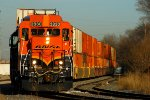 Northbound BNSF Yard Job Train