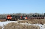 Southbound CN #6012 Leaves with a Freshly Loaded Ore Train