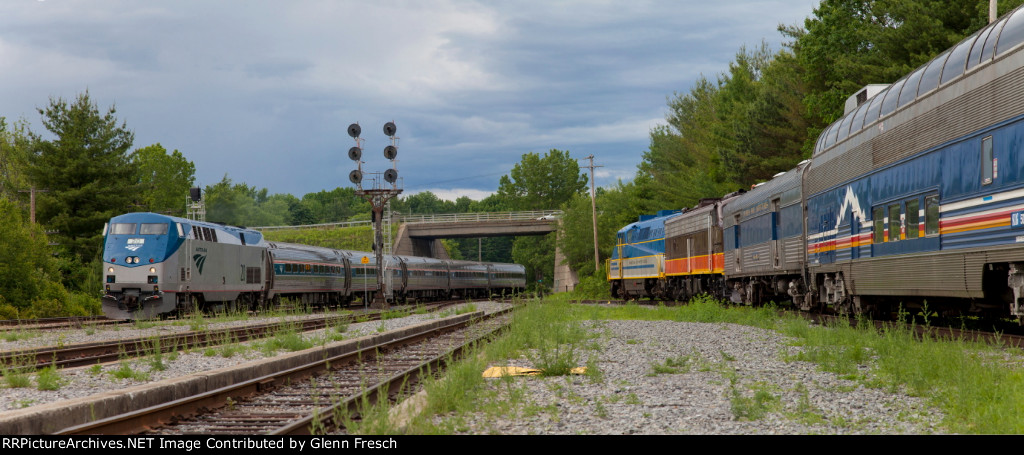 2 Passenger Railroads