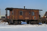BRC 205 26-foot Caboose at BRC's Clearing Yard