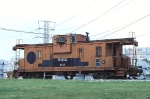 Indiana Railroad 101, Wide-Vision Caboose, ex IC/ICG, being used as a yard office