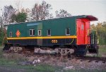 TPW 523, Bay Window Caboose,